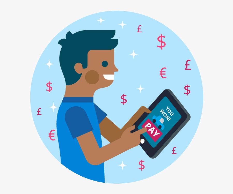 Clip Art Online Payment, Transparent Clipart