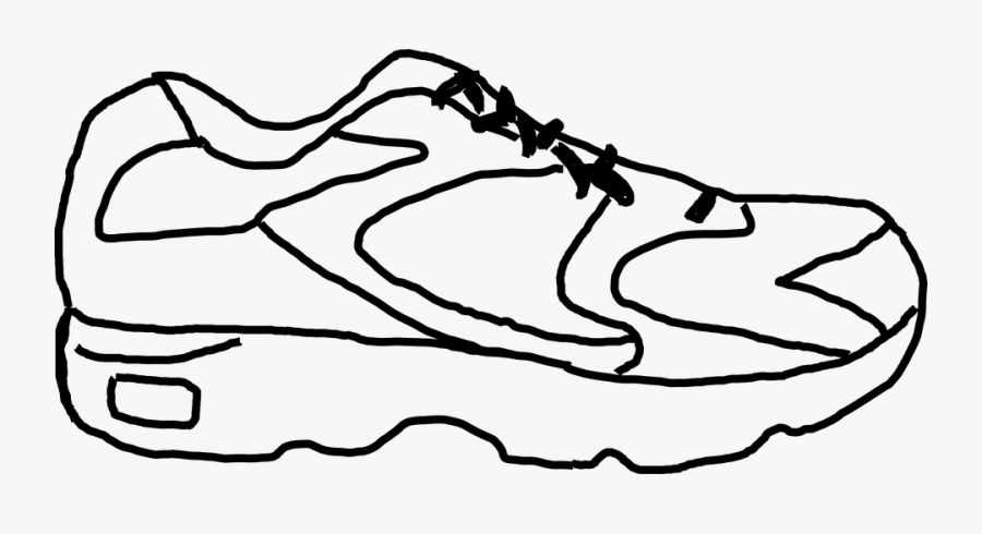 Sneakers, Tennis Shoes, Shoes, Sports, Running - Running Shoe Clip Art, Transparent Clipart