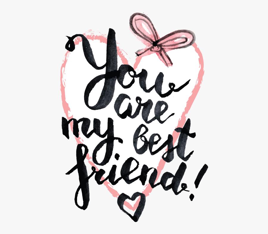 My Best Friend Png, Transparent Clipart