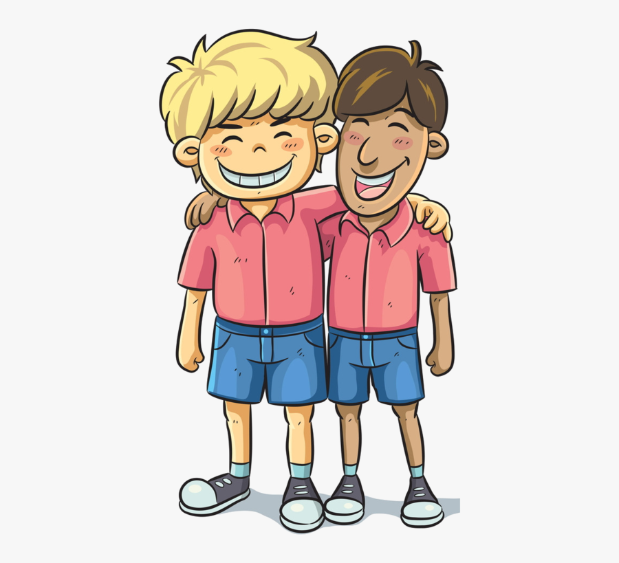 Best Friends Clipart Boys, Transparent Clipart
