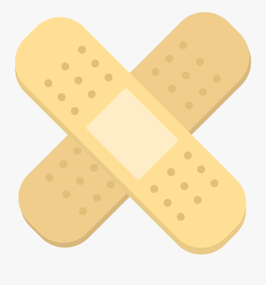 Transparent Band Aid Clipart - Illustration, Transparent Clipart