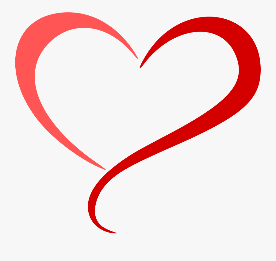 Hd Abstract Heart Png - Abstract Heart Clip Art, Transparent Clipart