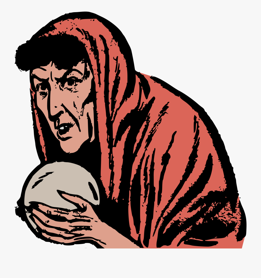 Predicting Future And Yagni - Fortune Teller Crystal Ball Clipart, Transparent Clipart