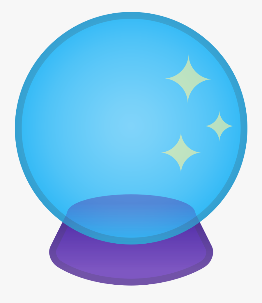 Crystal Ball Icon Png, Transparent Clipart