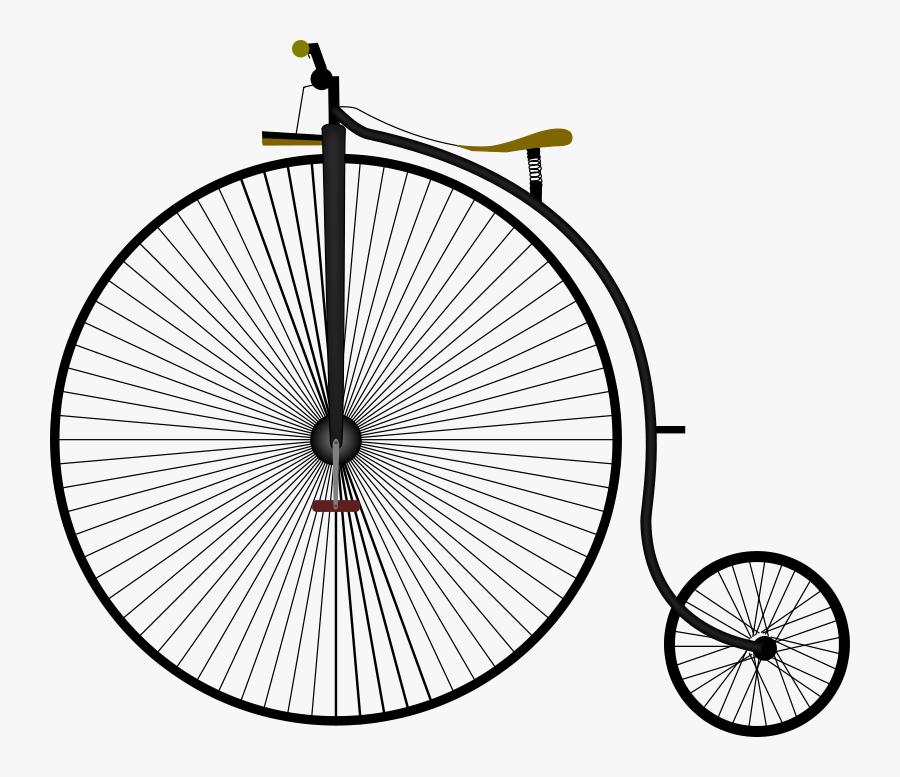 Penny Farthing Bike Grand-bi - Penny Farthing Transparent Background, Transparent Clipart