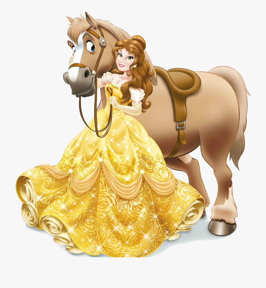 Pinterest - Belle And Her Horse, Transparent Clipart