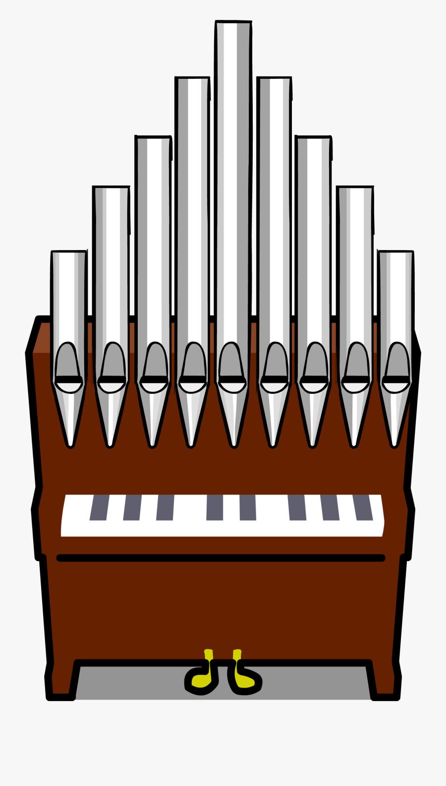 Club Clipart Choir - Organ Clip Art, Transparent Clipart