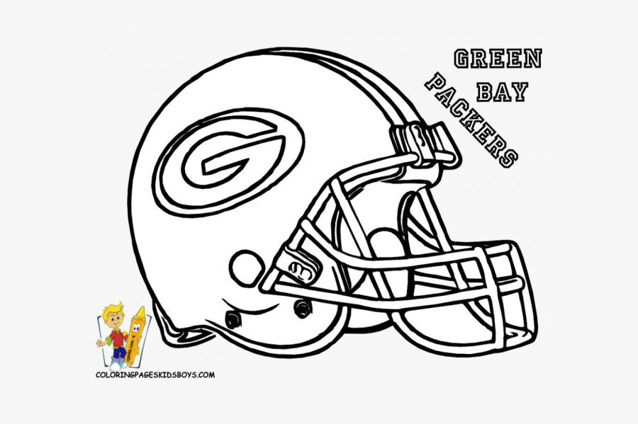 Packers Football Coloring Sheets, Transparent Clipart