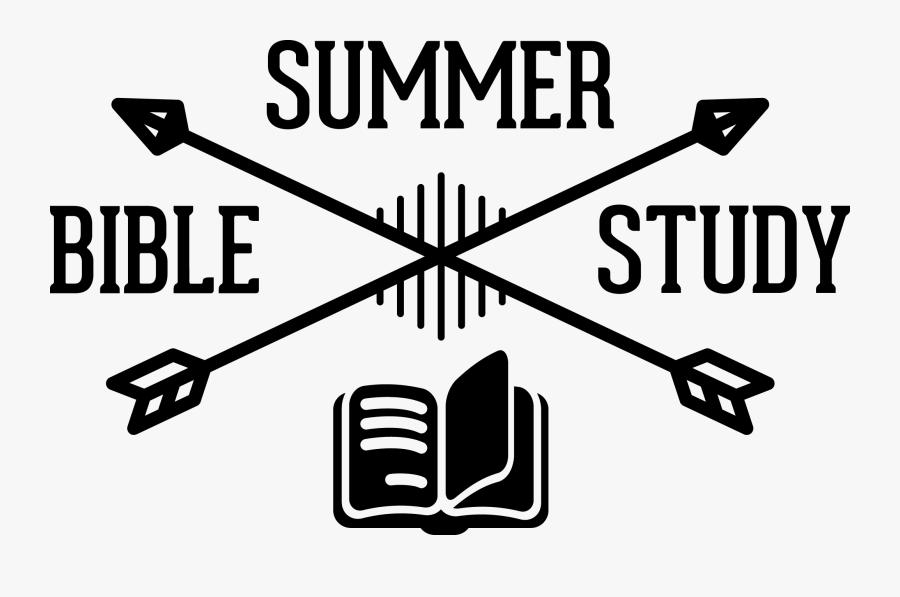 Summer Bible Study Logos, Transparent Clipart