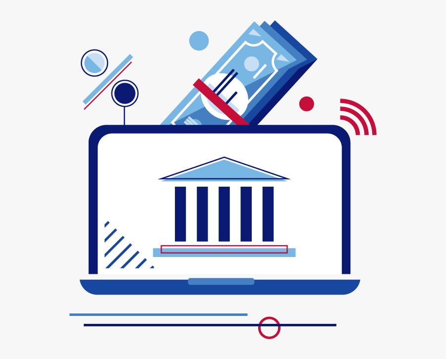 Cash Clip Art Online Banking U S Bank - Online Banking Cliparts, Transparent Clipart
