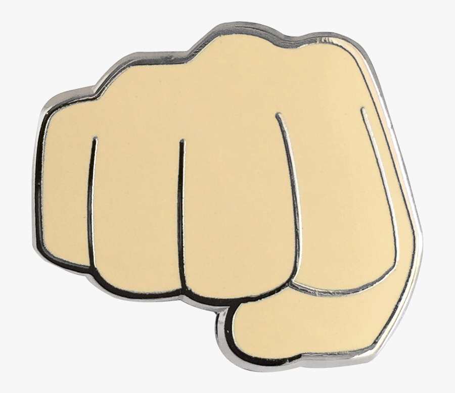 Fist Bump Emoji, Transparent Clipart