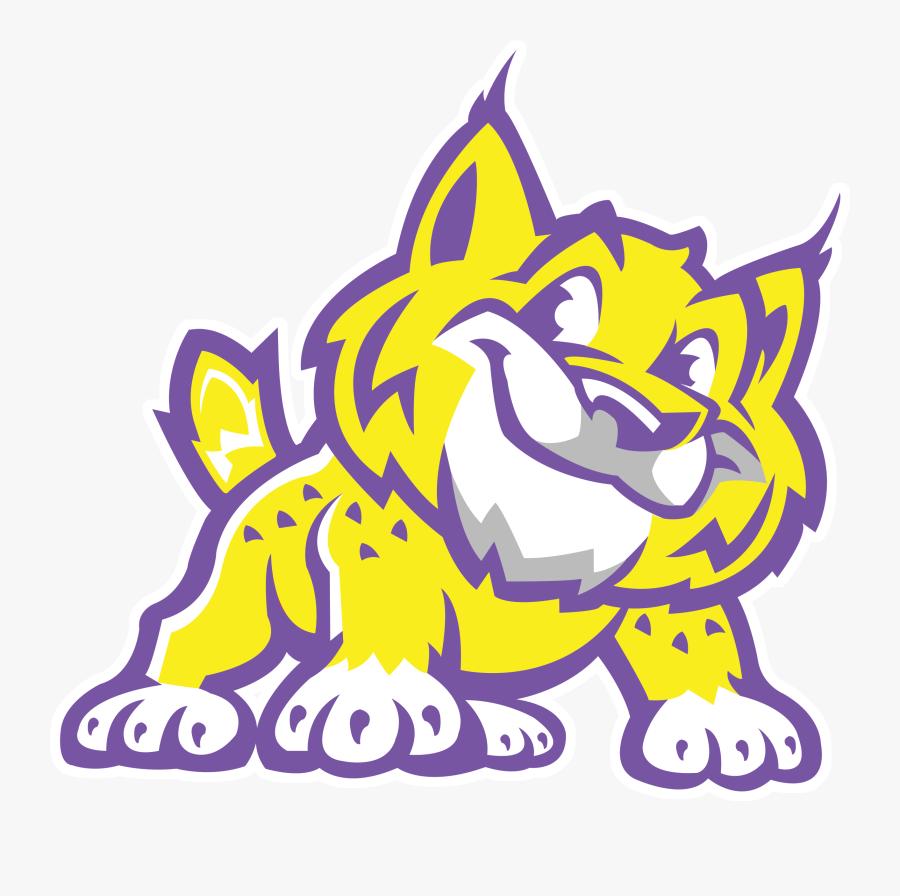 Bobcat Mascot Elementary School, Transparent Clipart