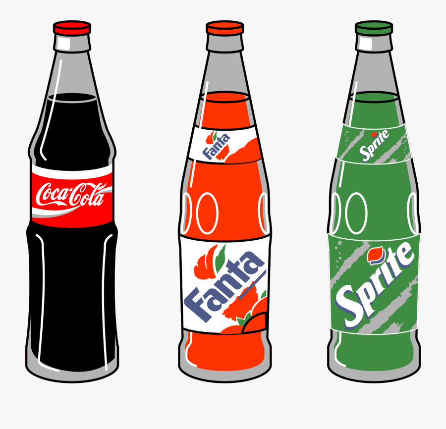 Coca Cola Soft Drink Pepsi Clip Art - Coca Cola Drinks Drawing, Transparent Clipart