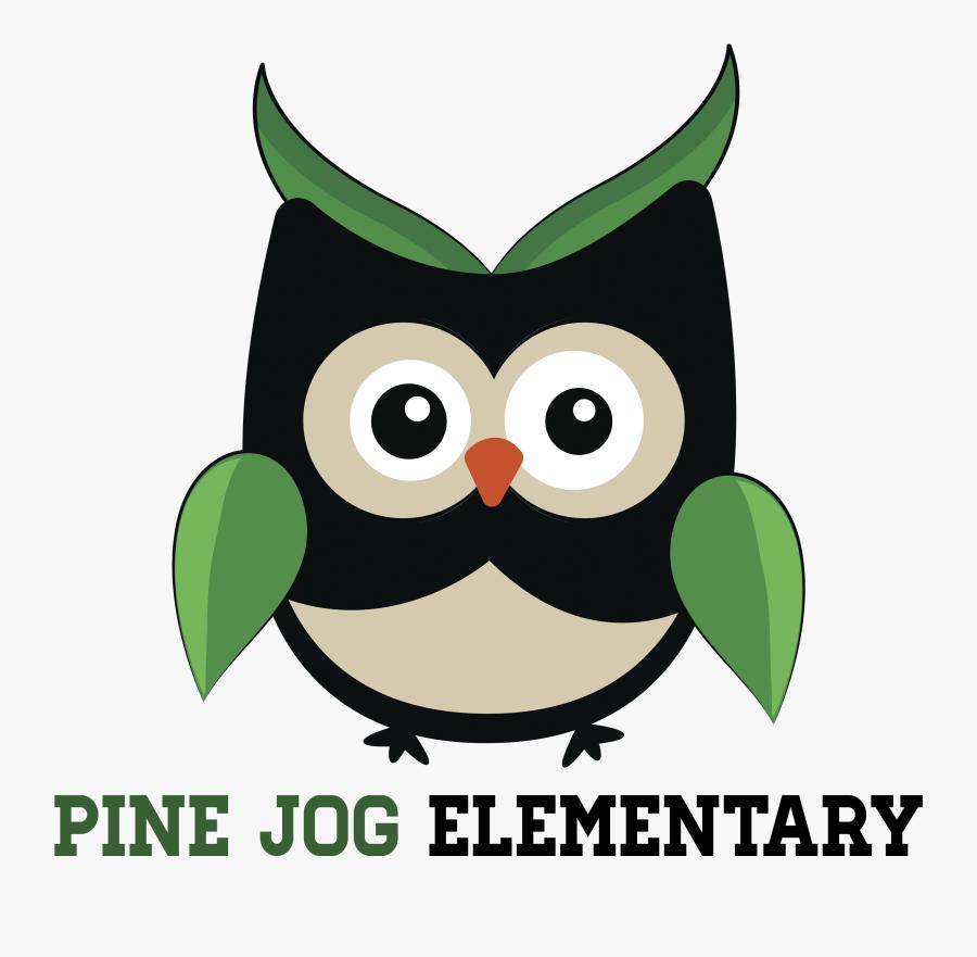 Pine Jog Elementary School Mascot, Transparent Clipart