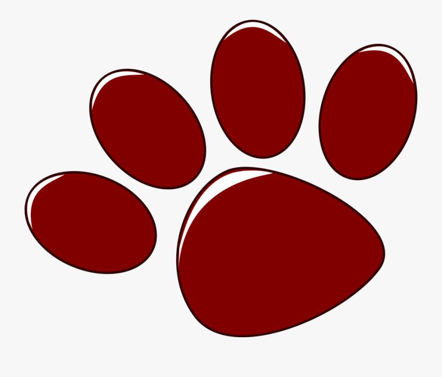 Circle,red,jayenne Elementary School - Huellas Clip Art, Transparent Clipart
