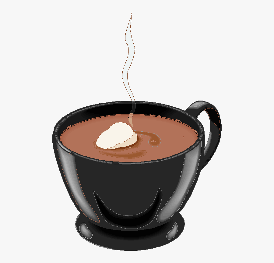 Chocolate Milk Hot Chocolate Animation - Hot Chocolate Cup Png Tranprent, Transparent Clipart