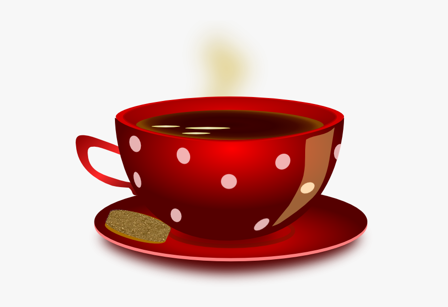 Coffee Cup Clip Art - Cup Of Tea Animated, Transparent Clipart