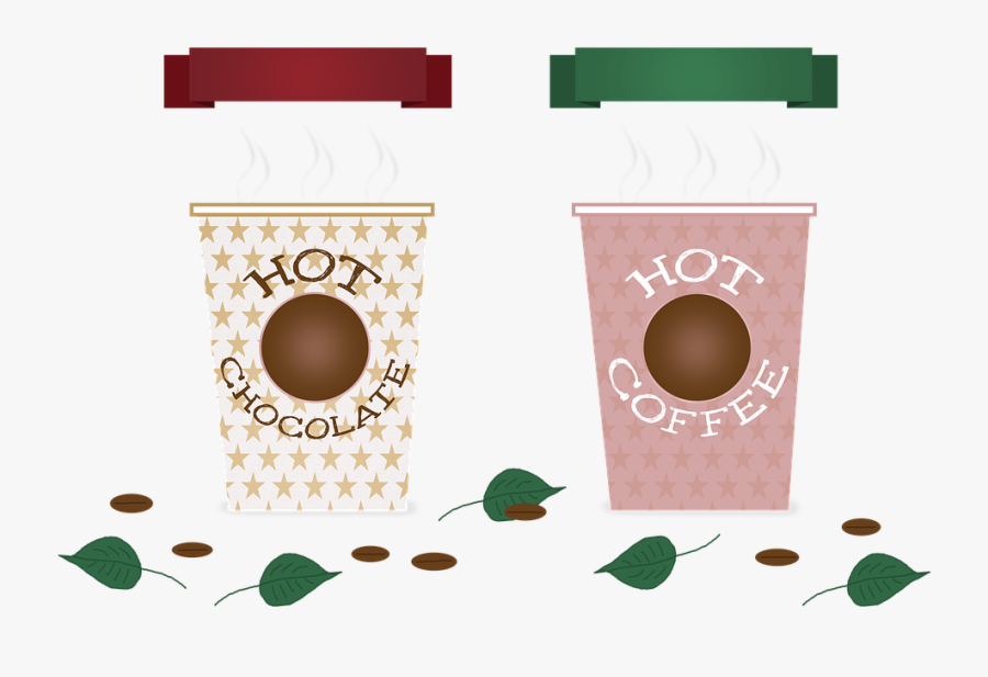 Coffee, Chocolate, Hot, Drinks, Band, Banner, Grain - Pixabay Coffee Signs Clip Art, Transparent Clipart