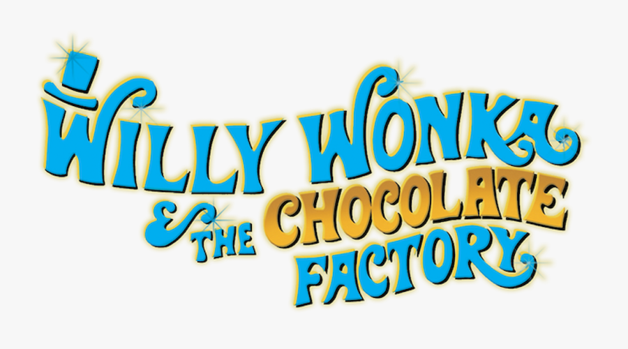 Willy Wonka And The Chocolate Factory Logo, Transparent Clipart
