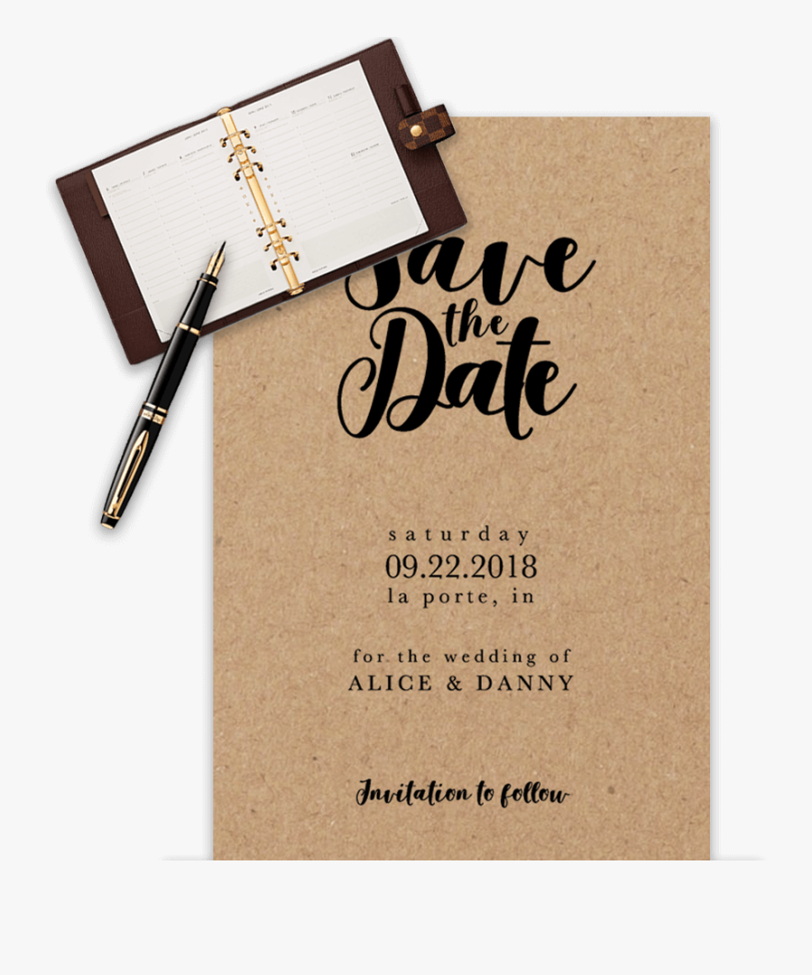 Clip Art Email Save The Date Free - Save The Date Template 2018, Transparent Clipart