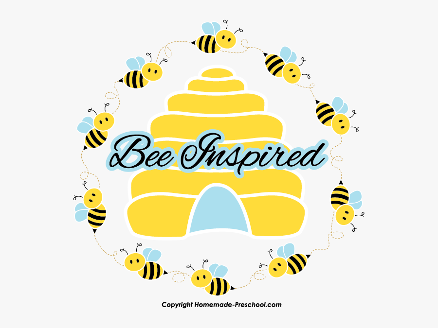 Free Bee Clipart Svg Free Library - Honey Bee Hive Clip Art, Transparent Clipart