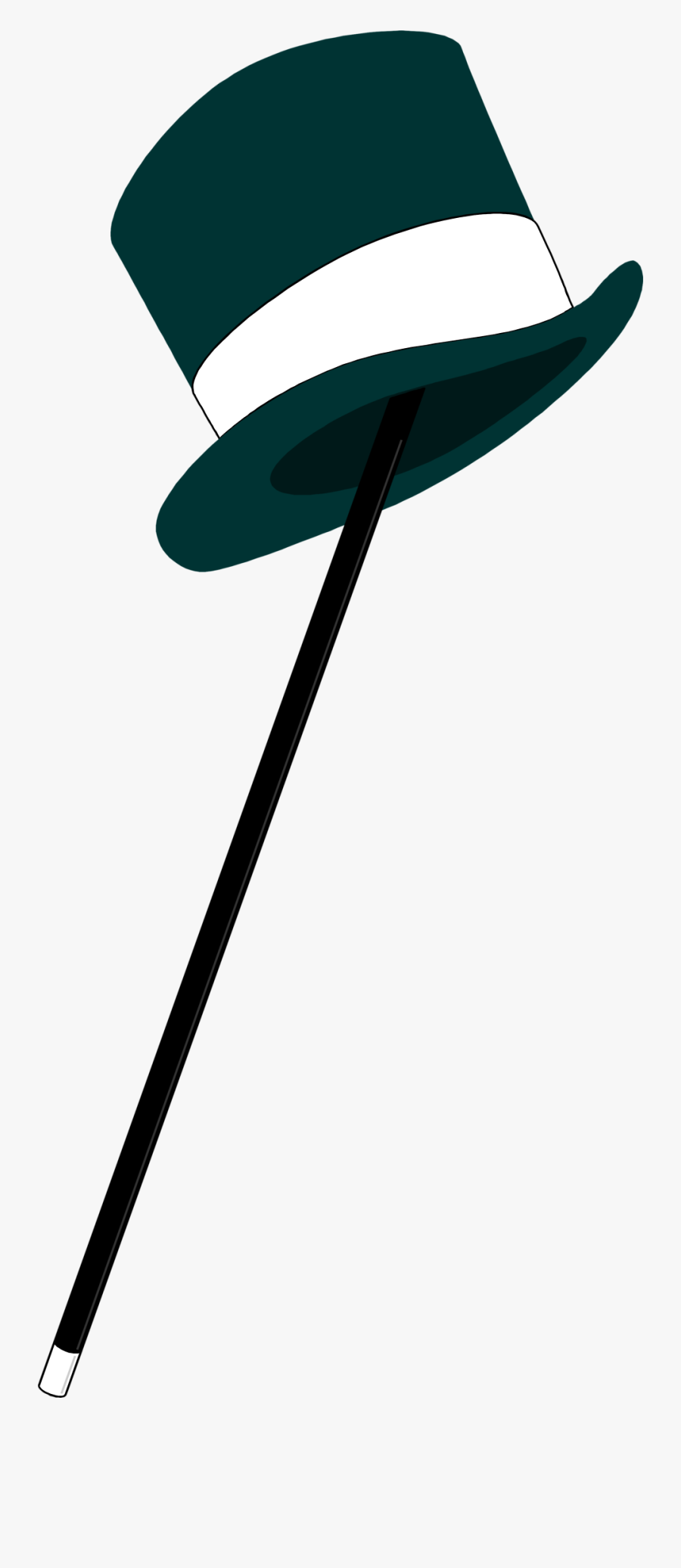 Top Hat Free Stock Photo A Top Hat And Cane Clip Art - Top Hat And Cane, Transparent Clipart