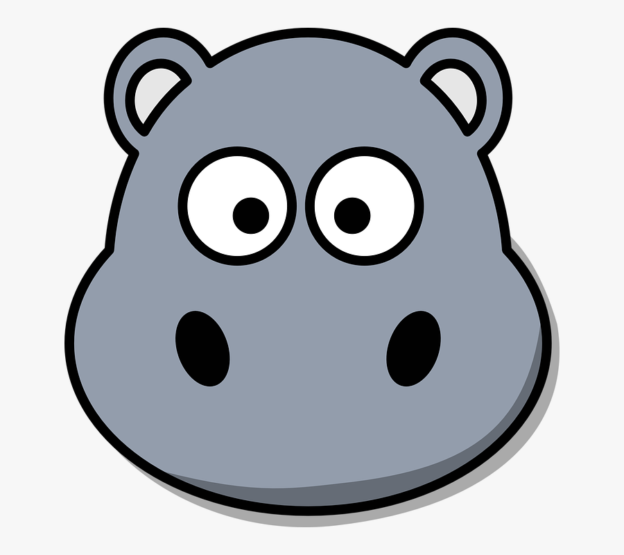 Hippo Face Clipart , Free Transparent Clipart - ClipartKey
