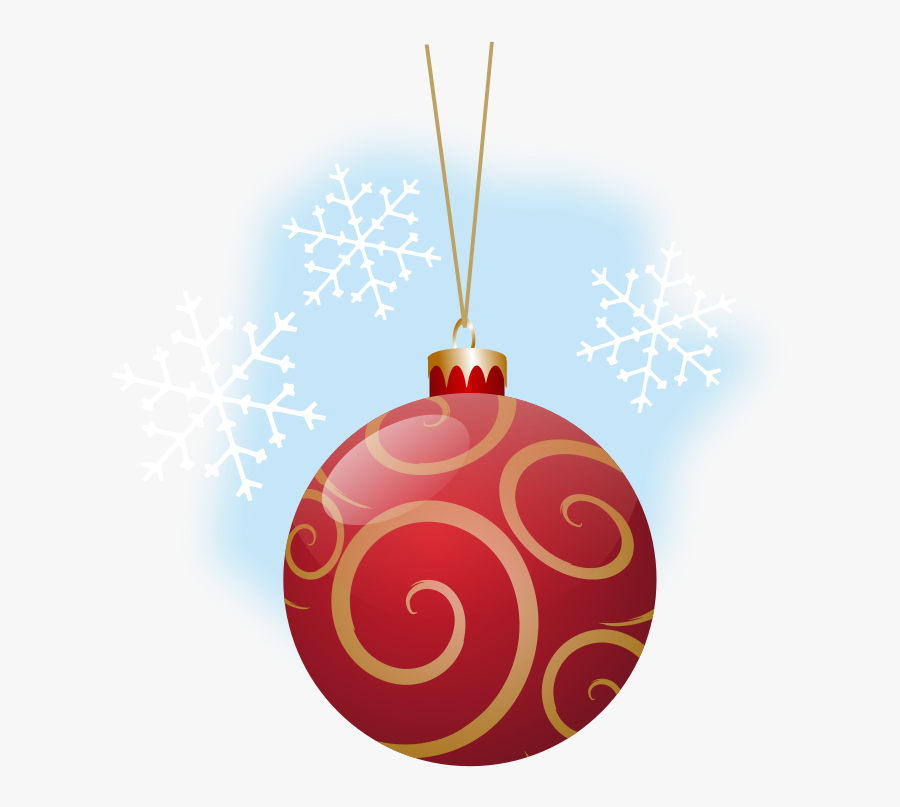 Free To Use & Public Domain Christmas Ornaments Clip - Christmas Ball Ball Clipart, Transparent Clipart