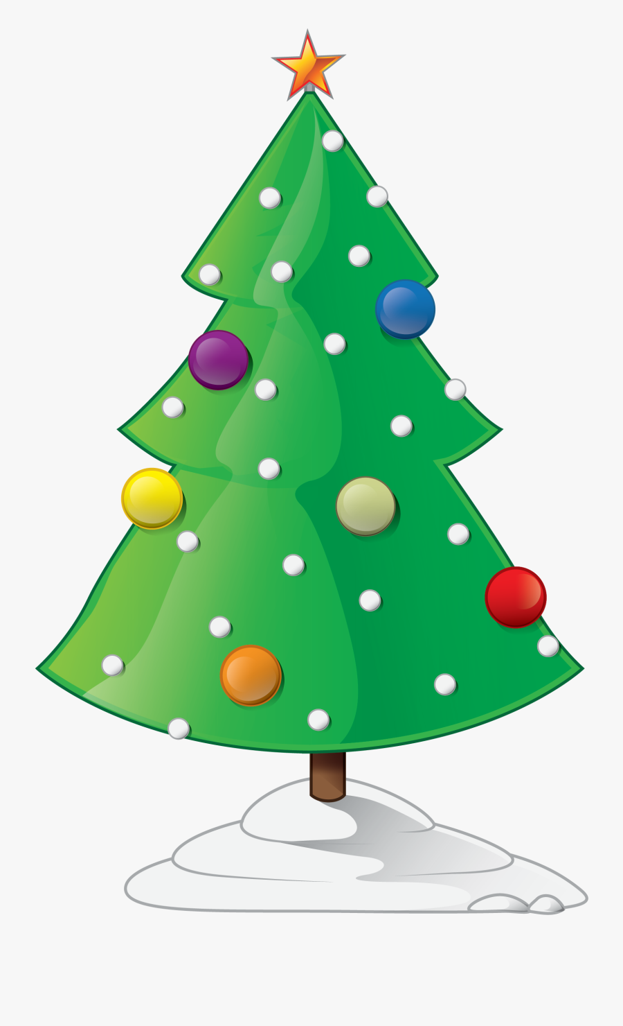 Showing Post & Media For Cartoon Christmas Ornament - Christmas Tree Animation Transparent, Transparent Clipart