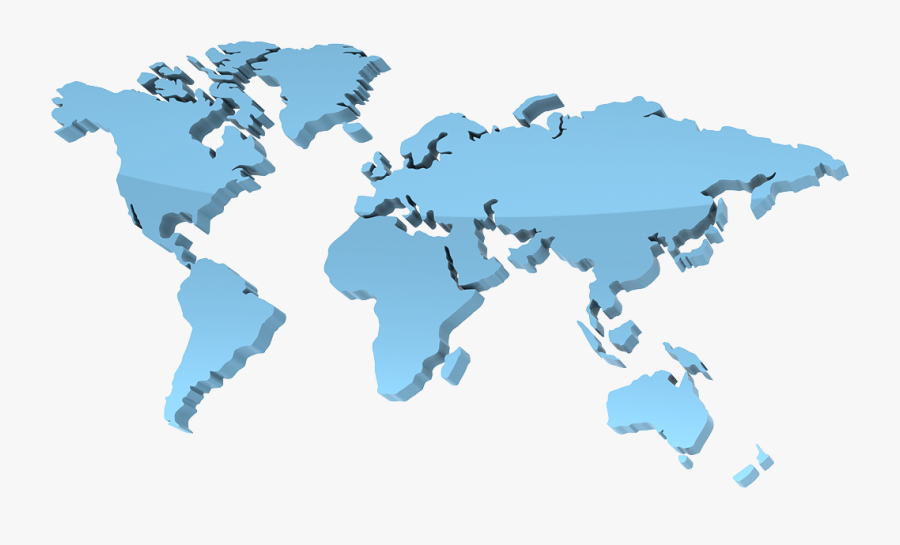 World Map, Multi Lingual Ecommerce Solutions Websites - Global Value Chain Oecd, Transparent Clipart