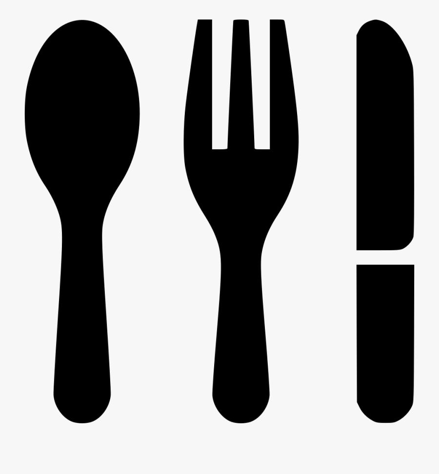 Fork Knife Spoon Comments - Fork Knife Spoon Icon, Transparent Clipart