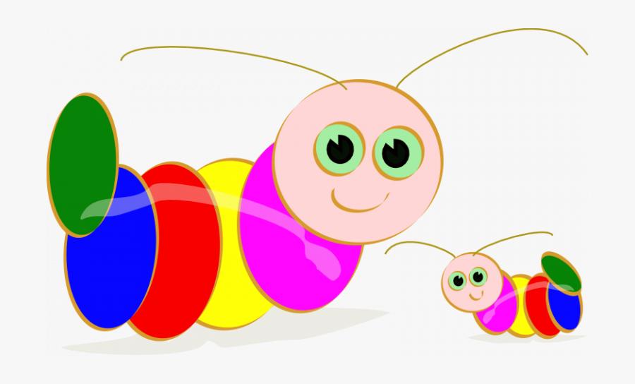 Transparent Worm Clipart - Clipart Of Caterpillar, Transparent Clipart
