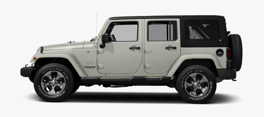 Clip Art Wrangler Unlimited X - 2016 Black Jeep Wrangler Sahara, Transparent Clipart