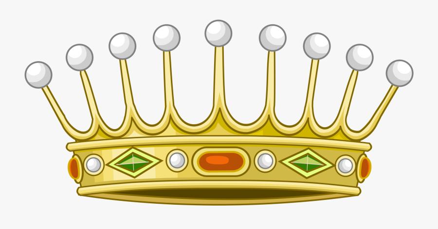 Heraldic Crown Clipart , Png Download - Crown Heraldic, Transparent Clipart