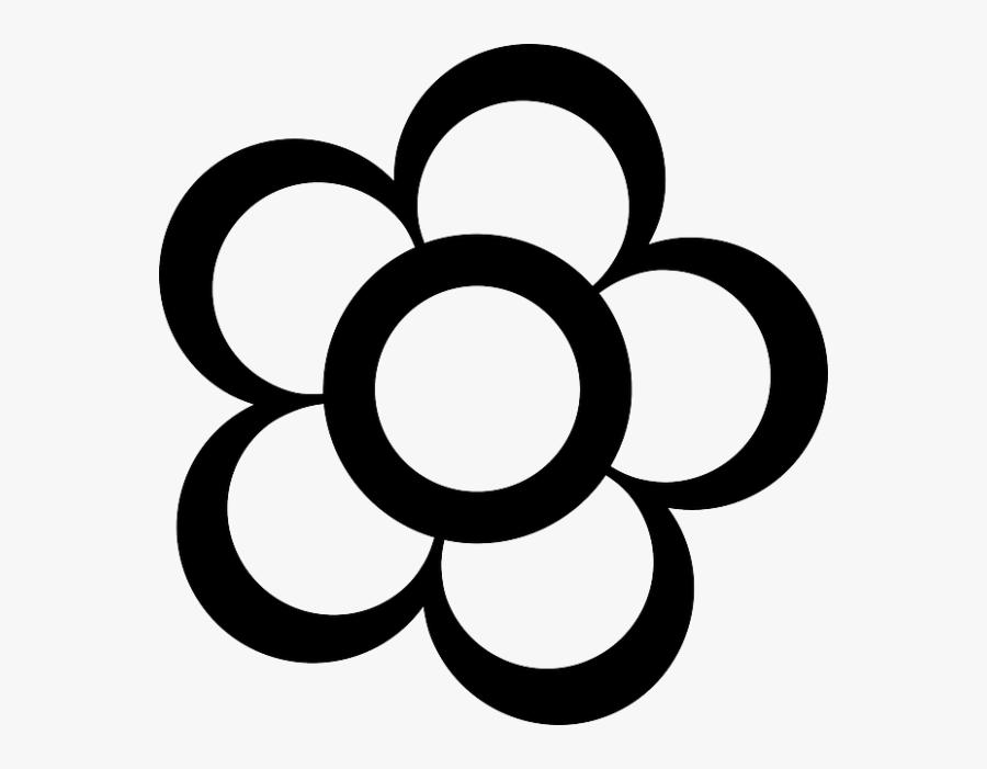 Flash Clipart Gambar - Gambar Bunga Kartun Hitam Putih, Transparent Clipart