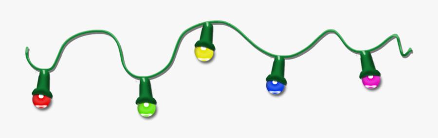 Christmas Lights Clip Art Clipartix - Christmas Lights Transparent Animated Gif, Transparent Clipart