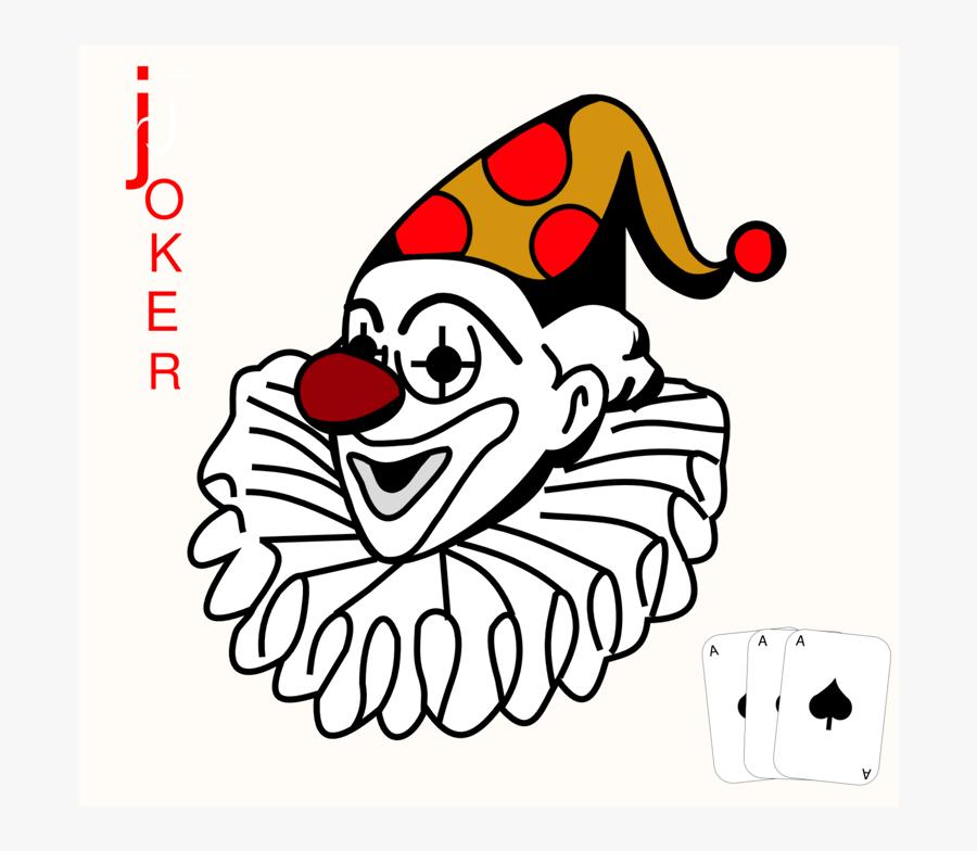 """Free Clip Art """"joker - Playing Cards Joker Png, Transparent Clipart"""
