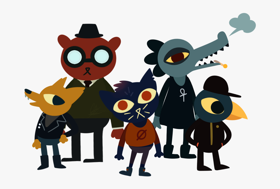 Night In The Woods Png Clipart - Human Night In The Woods, Transparent Clipart