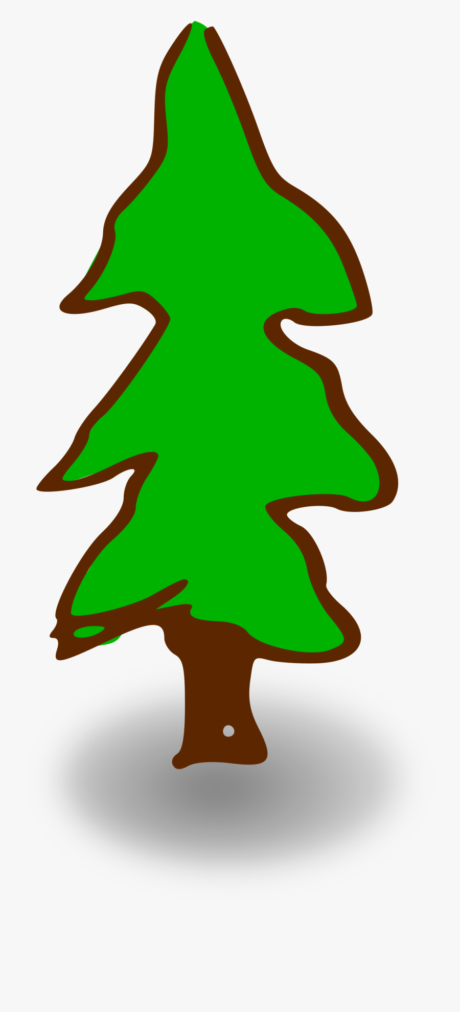 Clip Library Download Download Computer Icons Tree - Cartoon Christmas Tree With Transparent Background, Transparent Clipart