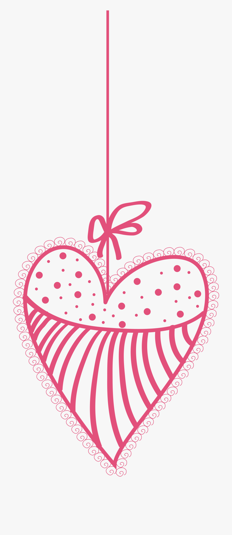 Decorative Heart Transparent Png Clip Art Image - Heart, Transparent Clipart