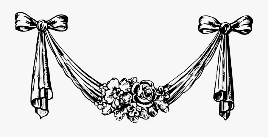 Decorative Arts Decorative Designs Download Floral - Flower Decoration Clip Art, Transparent Clipart