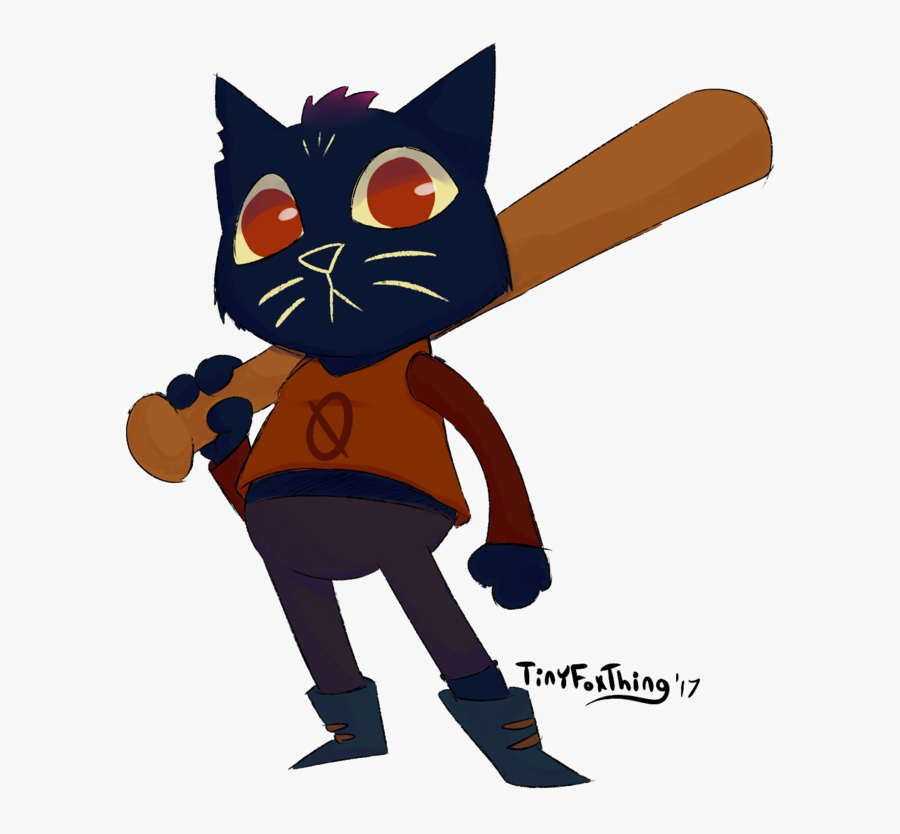 Night In The Woods Download Png Image - Night In The Woods Bat, Transparent Clipart