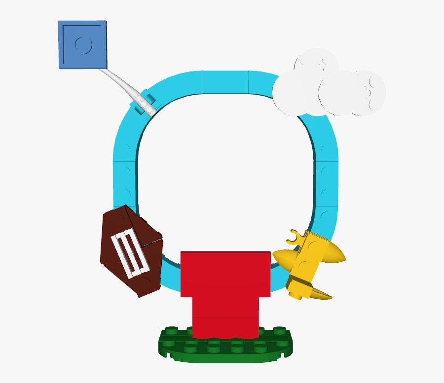 Peanuts Baseball Clipart - Lego Dimensions Custom Adventure World Portals, Transparent Clipart
