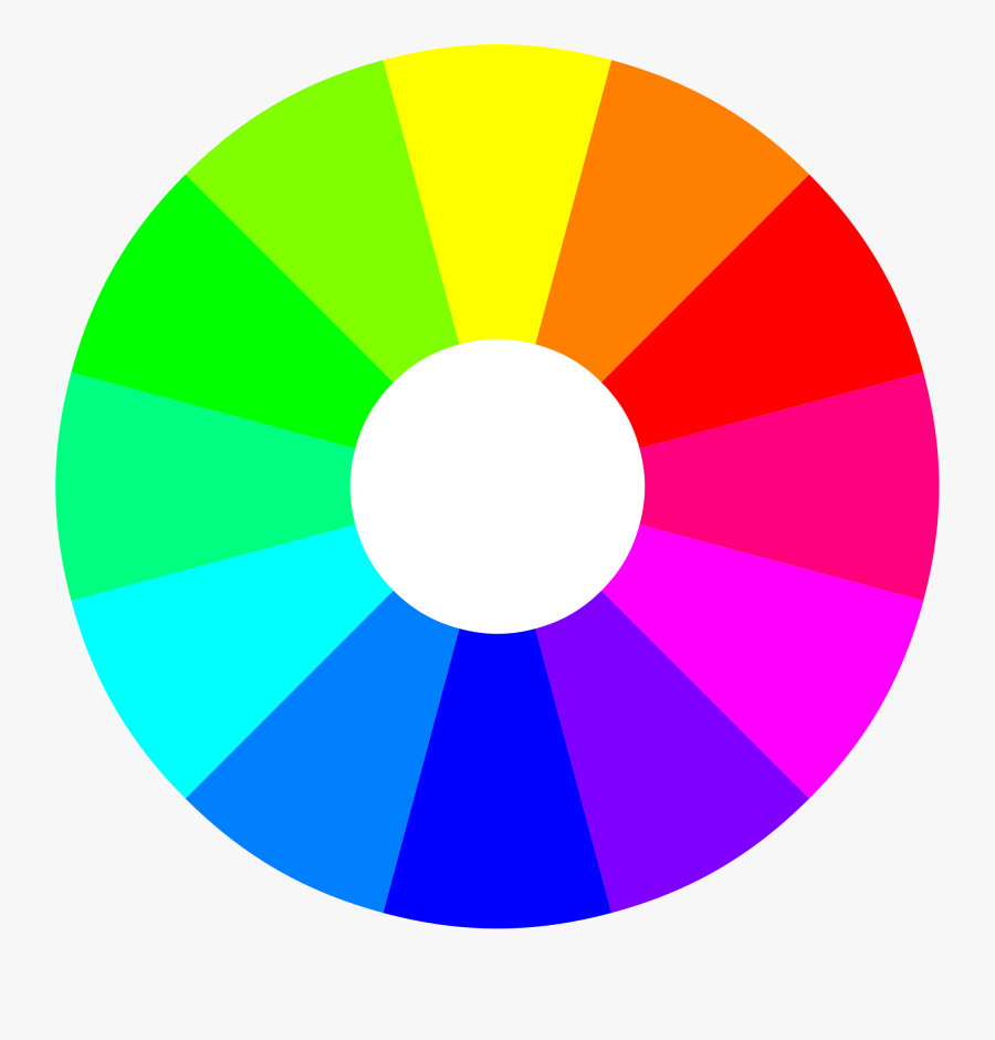 Color Wheel 12 Colors Home Design - Color Wheel 24 Colors, Transparent Clipart
