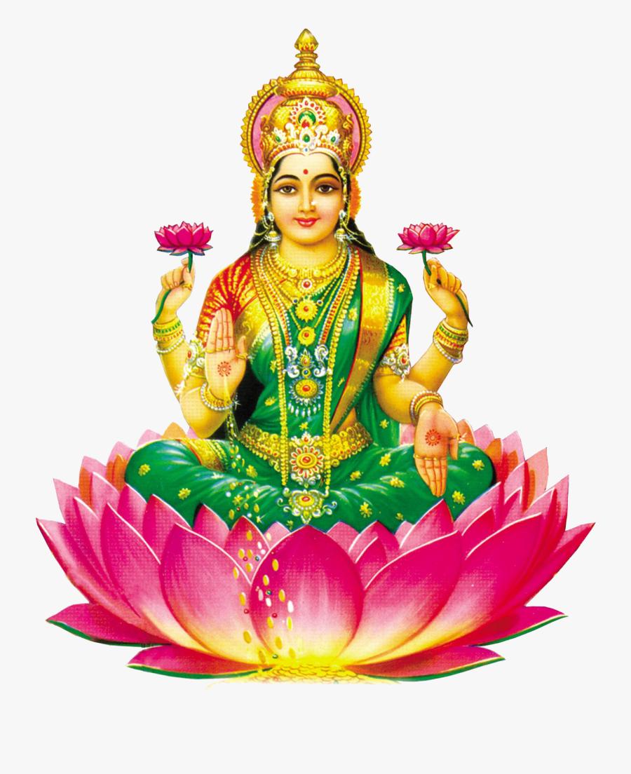 God Lakshmi Png, Transparent Clipart