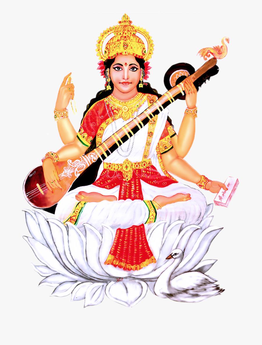 Saraswati Png Transparent Images, Transparent Clipart