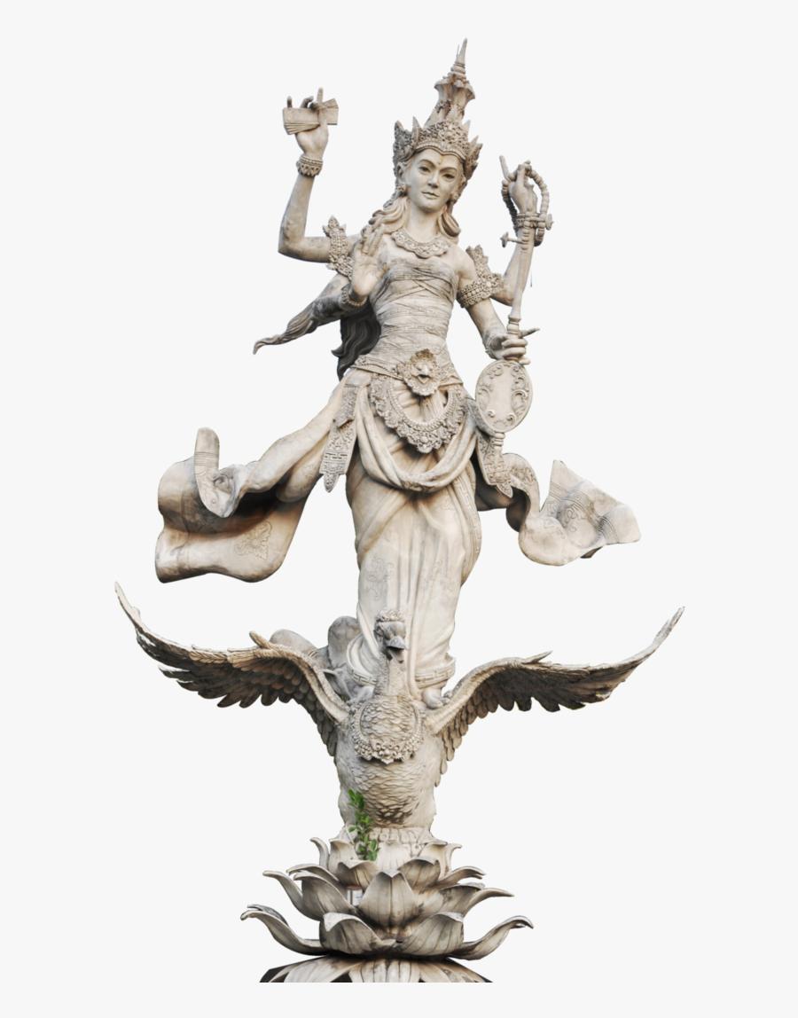 Saraswati Transparent - Saraswati Devi Without Background, Transparent Clipart