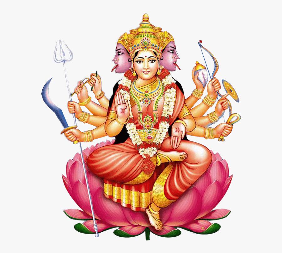 Lord Gayatri Devi Png, Transparent Clipart
