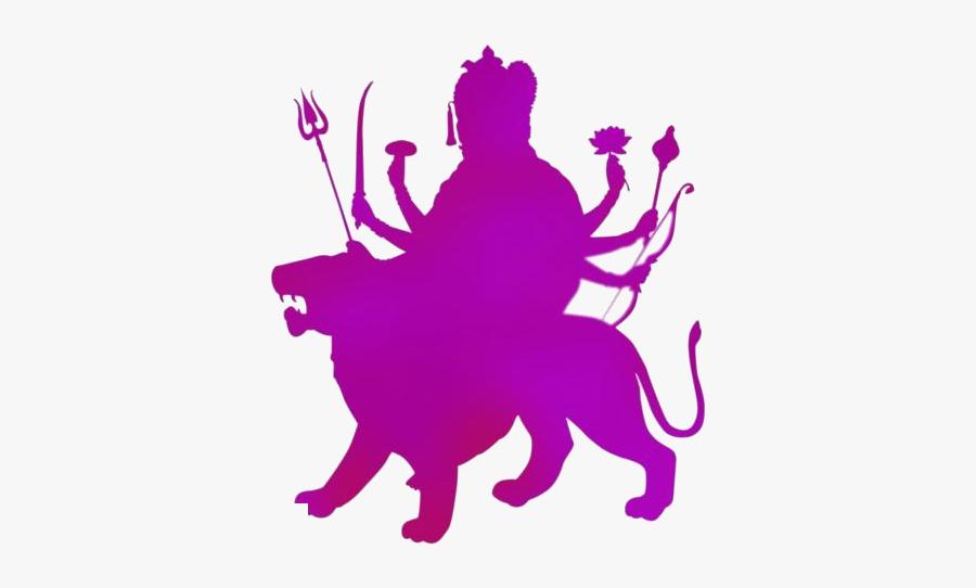Goddess Png Transparent Images - Durga Maa Png Hd, Transparent Clipart