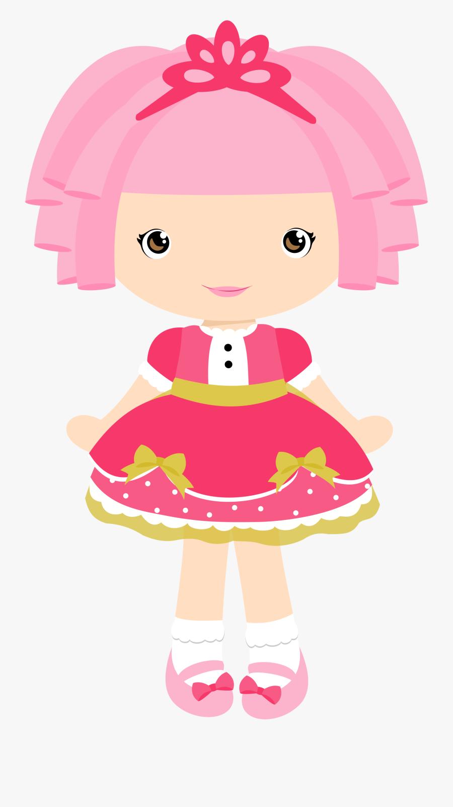 Cute Doll Clipart, Transparent Clipart